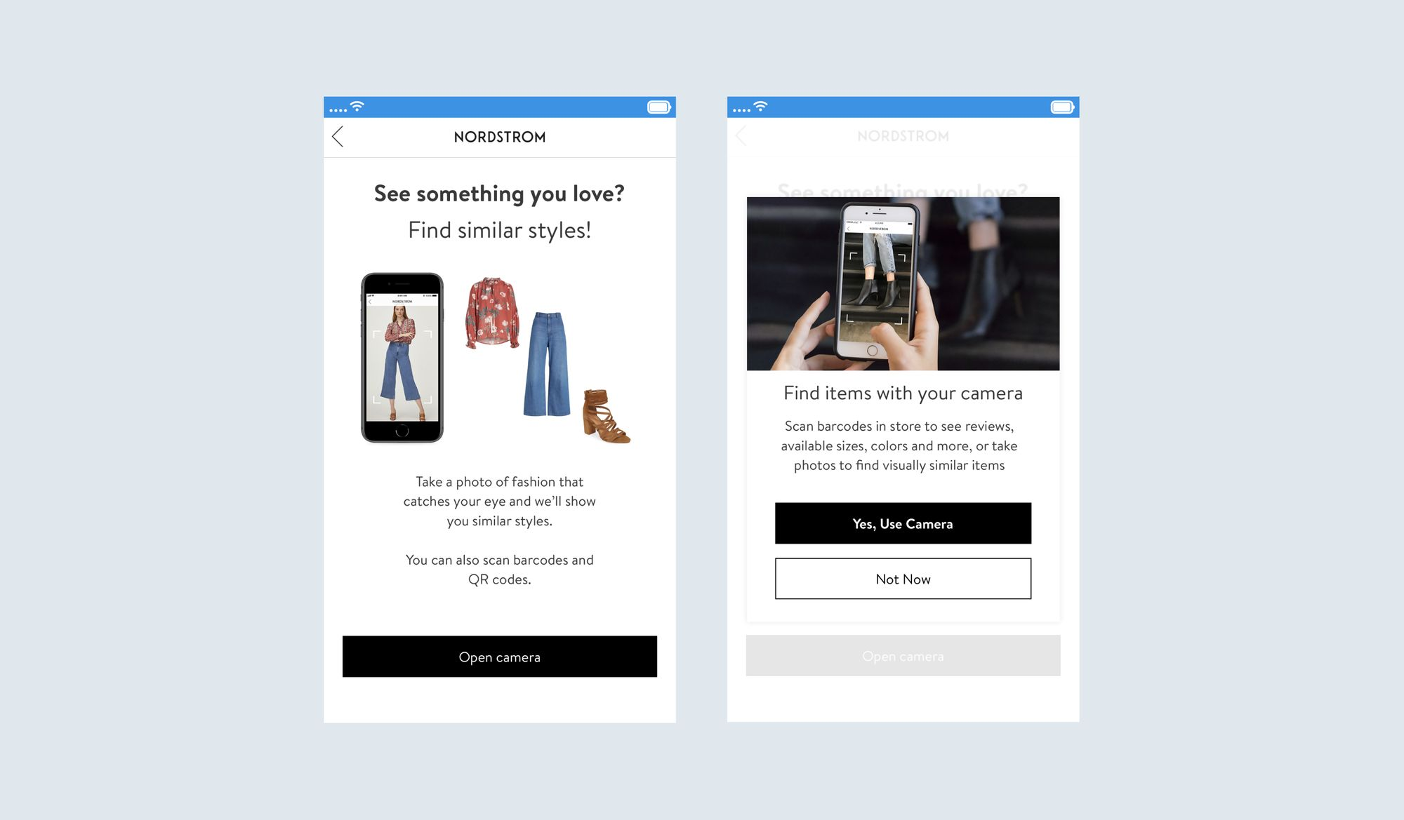 Nordstrom website search and filtering