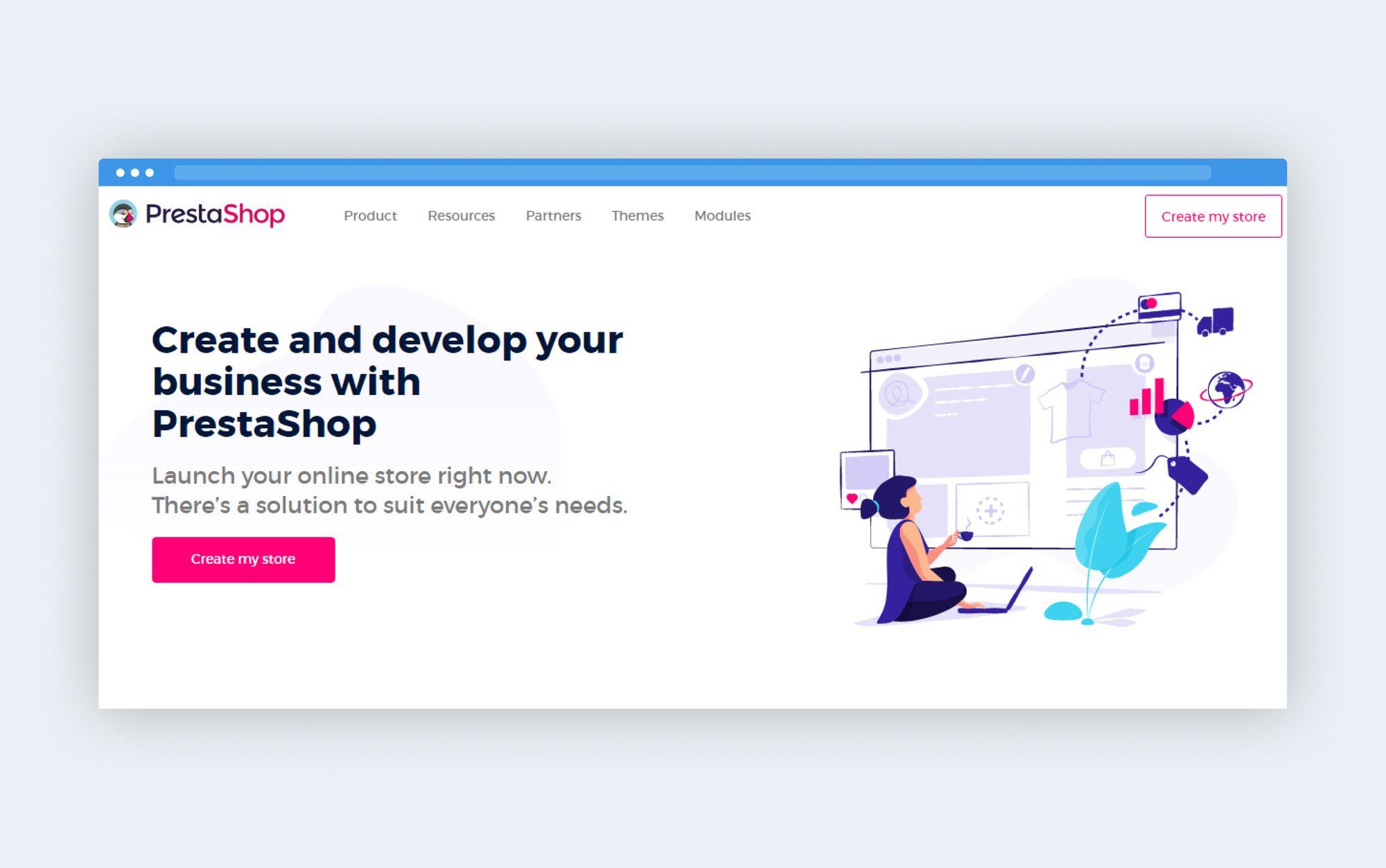 PrestaShop platform