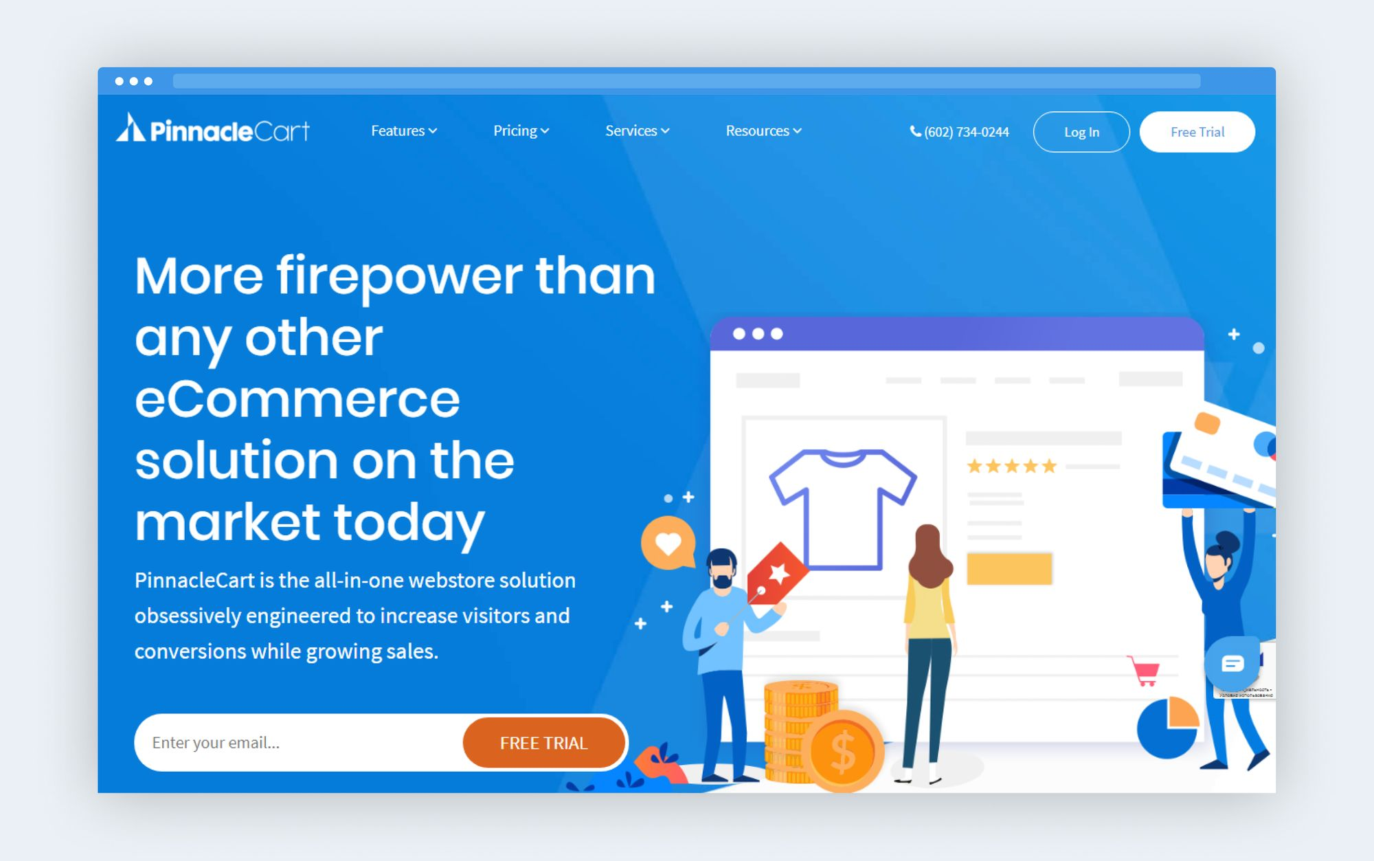 PinnacleCart platform