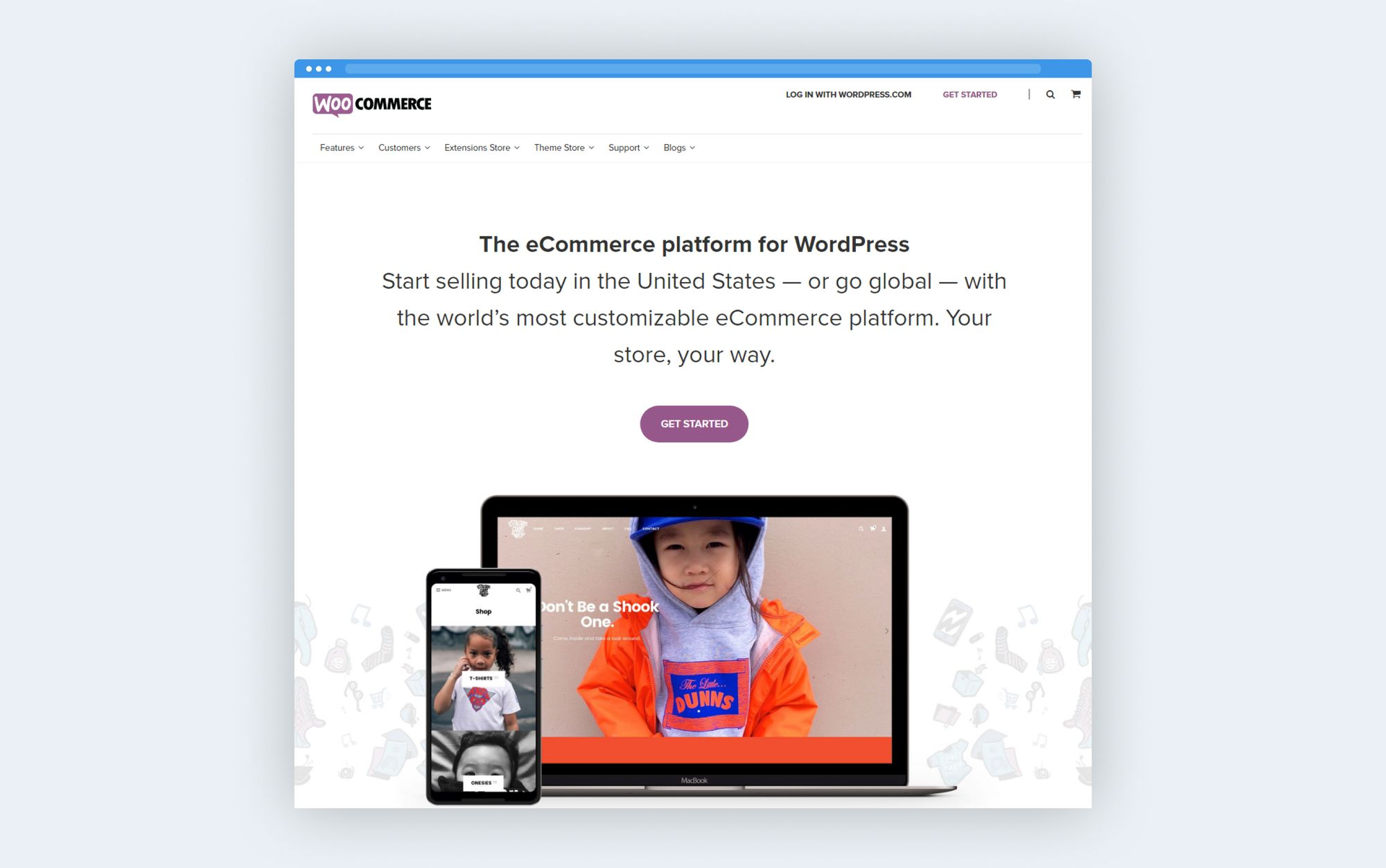 WooCommerce platform